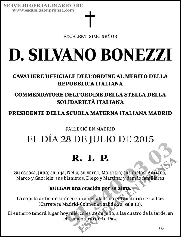Silvano Bonezzi